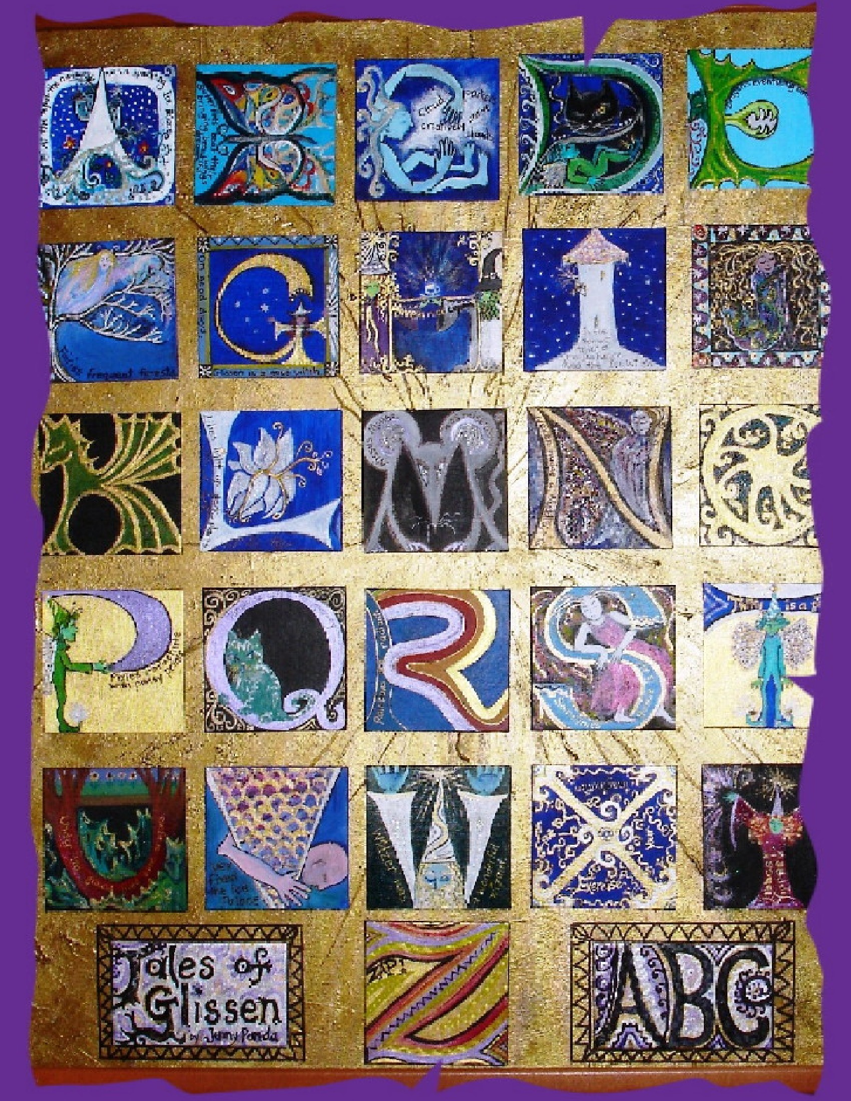Illuminated Letters Alphabet | New Calendar Template Site